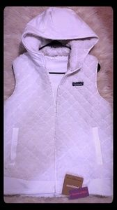 Patagonia Los Gatos White Quilted Gilet/ Vest